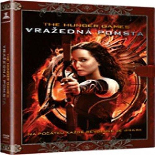 Hunger Games : Vrazedna Pomsta DVD - Knizni edice / The Hunger Games: Catching Fire (czech version)
