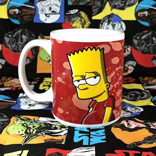 nobrand The Simpsons Cute Cartoon Ceramic Cup