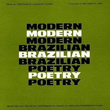 Modern Brazilian Poetry: Read by Professor Cassiano Nunes