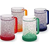 Best Freezer Mugs - Double Wall Gel Freezer Mug - Set of Review