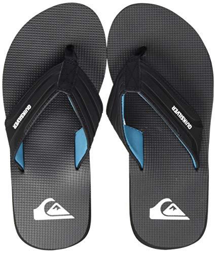 Quiksilver Crystal Oasis, Zapatos de Playa y Piscina para Hombre, Negro (Black Xkkb), 39 EU
