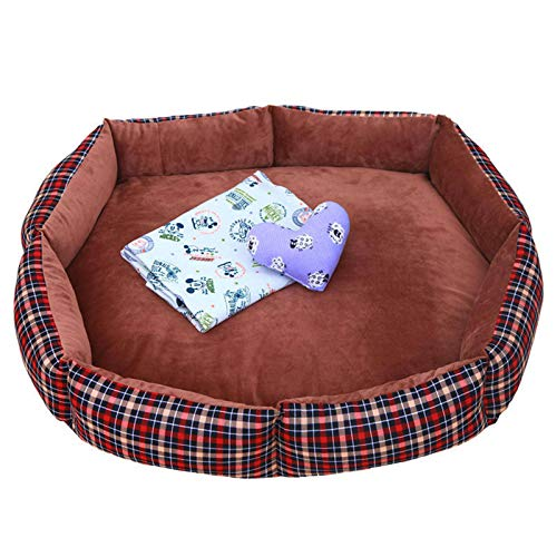 N-B Removable and Washable Big Dog Golden Retriever Samoyed Nest Labrador Alaska Dog Bed Dog Mat
