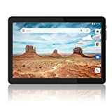 Tablet 10 inch, Android 8.1 Tablets PC, 16GB, 5G WiFi and Dual Camera, GPS, Bluetooth, 1280x800 IPS Display, Google Certified Tablets - Black