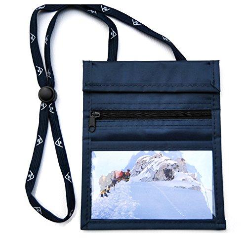 everest1953 sunwallet Navy Brustbeutel Brustsafe Brusttasche Umhängetasche Outdoor * blau