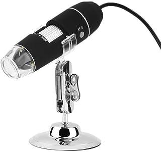USDWRM USB Digital Electronic Microscope 1000X WiFi/USB Microscope Digital Microscope 8 LED Magnifier Camera for Android i...