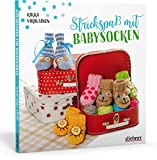Strickspaß mit Babysocken. 40 Anleitungen für gestrickte Babyschuhe. Mit allen Tipps und Tricks rund ums Babysocken stricken und großer Modellauswahl für alle Gelegenheiten.