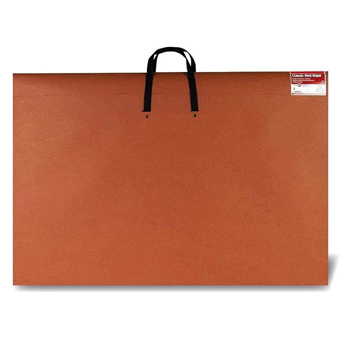 Star Products 24 x 36, Classic Red, Paper Artist Portfolio with Soft Woven Handle – Poster, Art Storage (246H), 24
