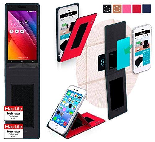 Hülle für Asus Zenfone Go 5.0 LTE Tasche Cover Case Bumper | Rot | Testsieger