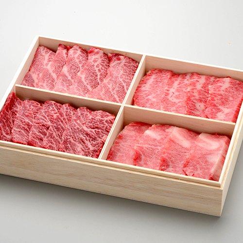 米沢牛懐石カルビ食べ比べセット カルビ食べ比べ(全100g、特上、上カルビ(カイノミ)、 上カルビ(ササミ)、トロカルビ)