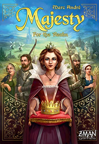 Zman Games Majesty: For The Realm Board Game