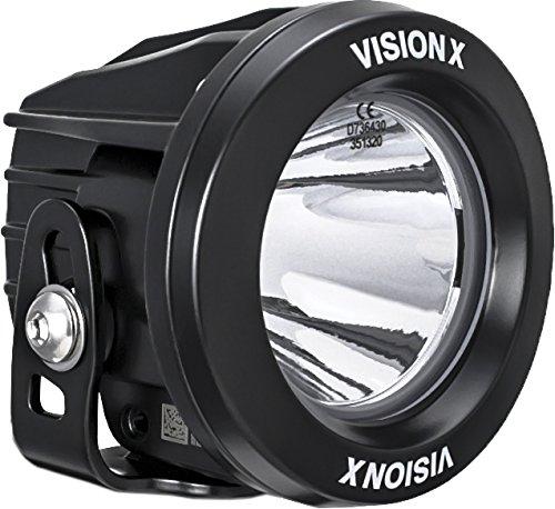 Vision x Lighting 9140896 xil-opr110-Optimus rond Series Phare de 1 LED 10 W – 10 °-1052 lm