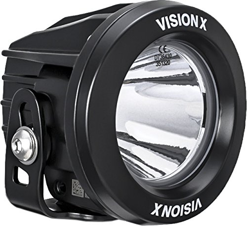 Vision x Lighting 9140896 xil-opr110-Optimus rond Series Phare de 1 LED 10 W – 10 °-1052 lm