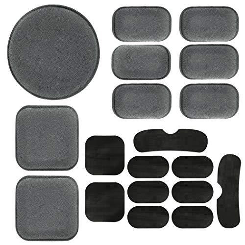 Aoutacc Universele Airsoft Helm Pads, Helm Vervanging Foam Padding Kits Set Accessoires Matten voor Snel/Mich/ACH/USMC/PASGT Helm