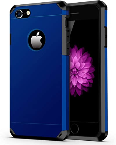 ImpactStrong Compatible with iPhone 7/8 Case, Heavy Duty Dual Layer Protection Cover Heavy Duty Case Designed for iPh...