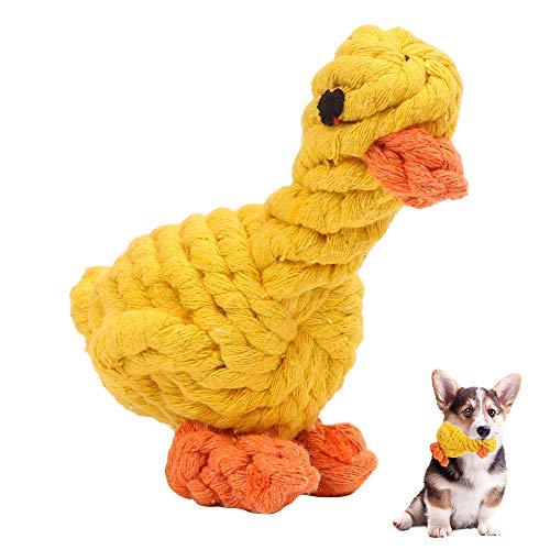 Hundespielzeug, Haustier Kauspielzeug, Hunde Spielsachen für Große Hunde, Original aus natürlicher Baumwolle, für Welpe Kleine Hunde Ungiftig Geruchlos zur Zahnreinigung, Pet Molar Toy