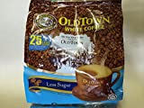 OLD Town (3 in 1)- Taste Premix White 25% Less Sugar Coffee- Don't Need Creamer & Sugar-make Your Life Easier - (35g - 40g) /Stick (25% Less Sugar), 525g (18.5 oz)
