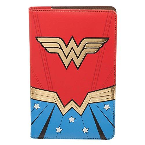 Official DC Comics Retro Wonder Woman Design Cartera y diario de viaje