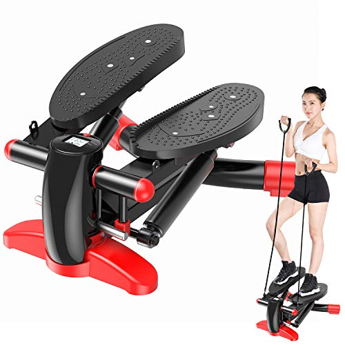 Merpin Stepper Up-Down-Stepper mit Multifunktions-Display, Mini-Fitnessgerät, Hometrainer Stepper...