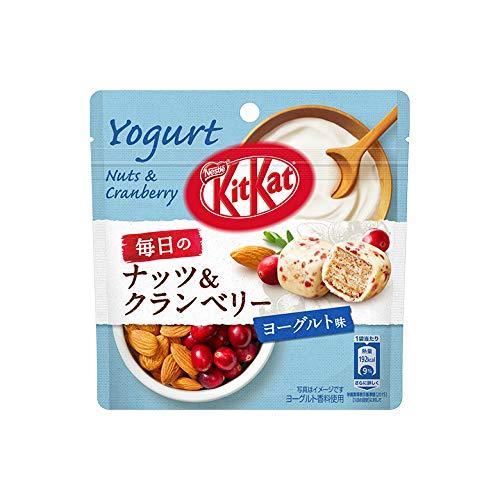 キットカット 毎日のナッツ&クランベリー ヨーグルト味 パウチ 36g ×12袋セット