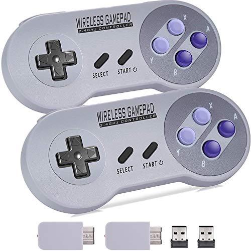 Aiboria - Console di gioco retrò classica con 620 videogiochi integrati e controller NES Classic, lettore per console con collegamento in TV, per bambini e adulti