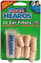 Hearos Ultimate Softness Series Ear Plugs, 8 Pair with Free Case
