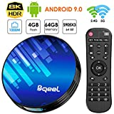 Bqeel Android 9.0 TV Box Y8 MAX 4G RAM 64G...