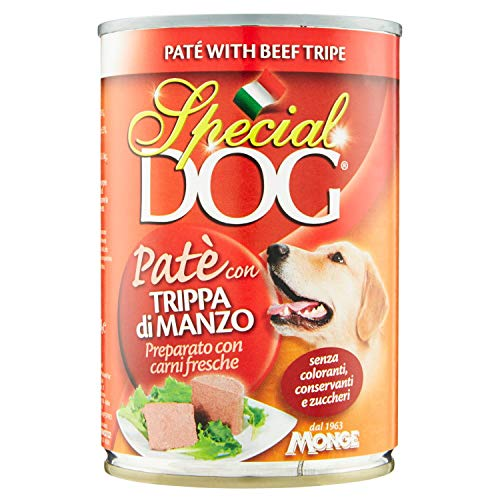 Monge–Special Dog 12confezioni da 400g con Paté...