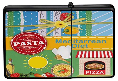 Mechero Lighter Impreso dieta mediterránea pizza