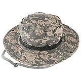 QMFIVE Sombrero Redondeado Multicolor al Aire Libre de la protección Solar para el acampamento táctico de la Subida de Paintball de Airsoft