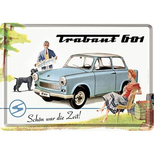 Nostalgic Art Retro Grußkarte, Blechpostkarte, Bunt, 10 x 14 cm