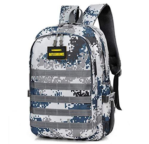 RongXing Mochila táctica Militar, Mochila de Asalto de 20 35L para Exteriores, Senderismo, Camping, Trekking, Bug out Bag & Travel (Azul)