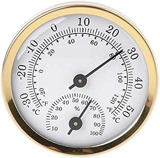 hkwshop Higrómetro para Interior Termómetro Interior Higrómetro Humedad Medidor de Temperatura de la Humedad Instrumentos ...