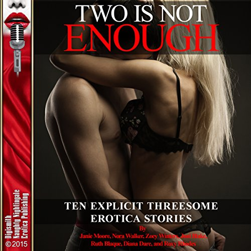 Two is Not Enough: Ten Explicit Threesome Erotica Stories audiobook cover art