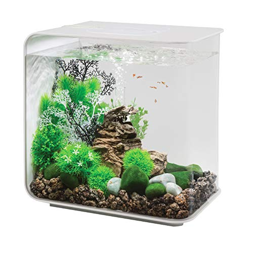 biOrb Flow 30 Aquarium with LED - 8 Gallon, White