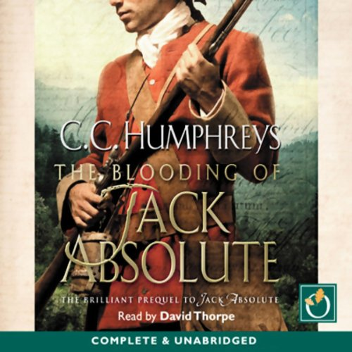 The Blooding of Jack Absolute audiobook cover art