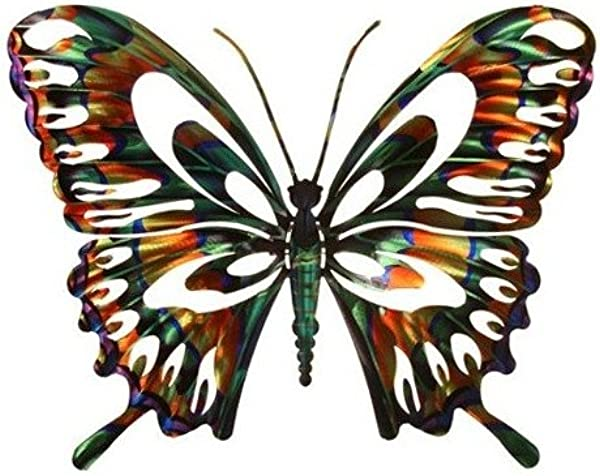 Next Innovations WA3DSBFLYMULIT Butterfly Refraxions 3D Wall Art Small Multi