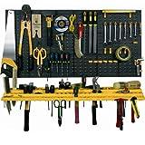 BiGDUG Garage Wall <span class='highlight'>Tool</span> Rack Storage Kit <span class='highlight'>Tool</span>s Organizer