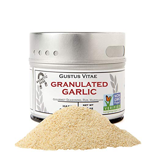 powerful Garlic grains – non-GMO – hand-packed in magnetic glass – obtained from sustainable sources…