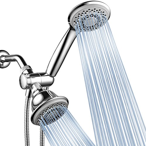 AquaStorm by HotelSpa 30-Setting SpiralFlo 3-Way HIGH PRESSURE Luxury Shower Head/Handheld...
