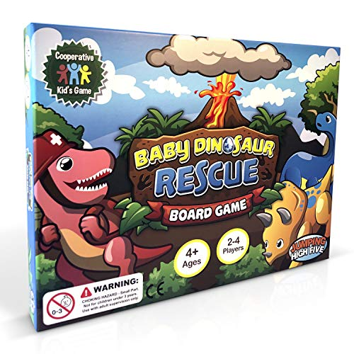 Baby Dinosaur Rescue Board Game