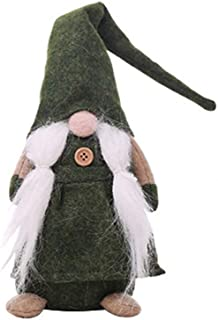NNCTA 17 Inches Handmade Christmas Gnome Swedish Figurines Holiday Decoration Gifts