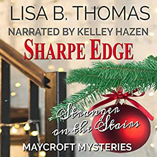 Sharpe Edge     Cozy Suburbs Mystery Series, Book 2              By:                                                                                                                                 Lisa B. Thomas                               Narrated by:                                                                                                                                 Kelley Hazen                      Length: 6 hrs and 9 mins     46 ratings     Overall 4.2