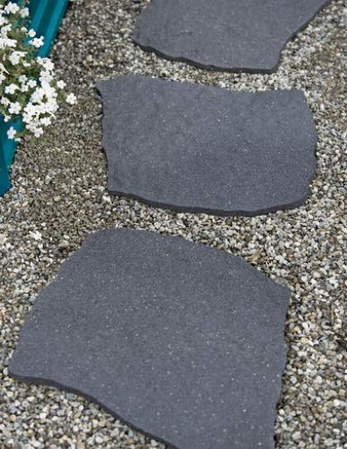 Gardener's Supply Company 100% Recycled Rubber Flagstone Stepping Stone 1/2in Thick