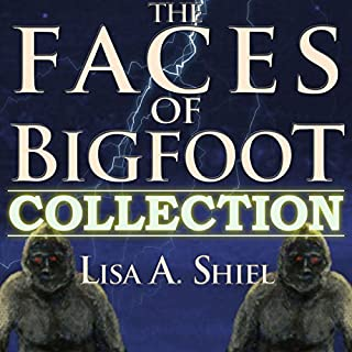 The Faces of Bigfoot Collection     Short Stories about the Sasquatch Phenomenon              By:                                                                                                                                 Lisa A. Shiel                               Narrated by:                                                                                                                                 Beverly Van Pelt                      Length: 1 hr and 50 mins     4 ratings     Overall 3.5