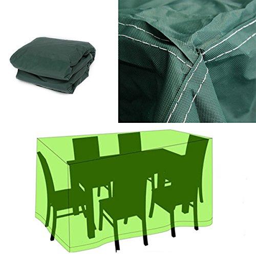 Generic 320cmx191x94cm Waterproof Garden Outdoor Furniture Dust Cover Table Shelter