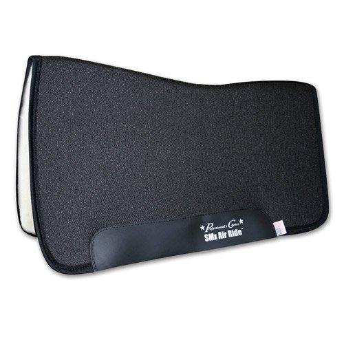 Professionals Choice 30X32 Equine Smx Air-Ride All Around Saddle Pad (Black)