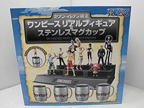todos los bienes son especiales Elected from five Eleven One Piece Piece Piece Real Figure stainless mugs each shop limited (japan import)  descuento de ventas