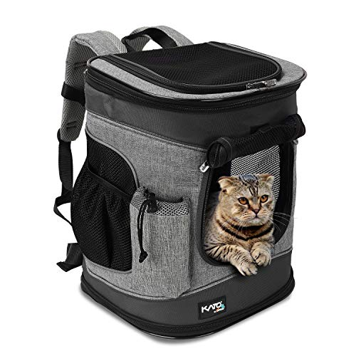 Tirrinia Pet Carrier Backpack for Cats and Dogs up to 15 LBS...