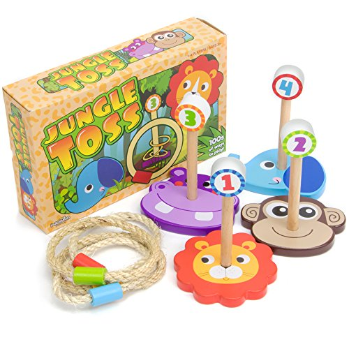 Jungle Ring Toss Game
