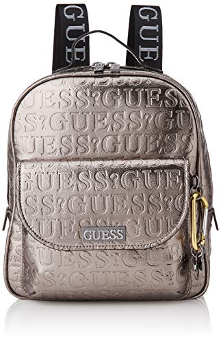 Guess Lane Large Backpack, Woman, Pewter, One Size